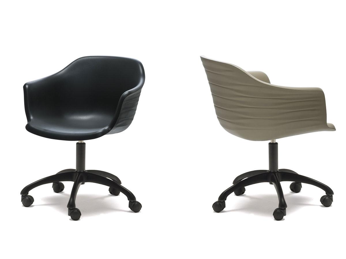 Schalen stuhl indy 301 c von cattelan italia online kaufen - Stuhl auf rollen ...