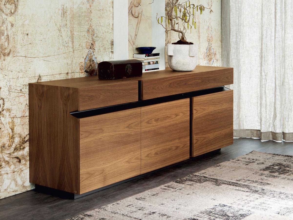 cattelan italia nussbaum sideboard prisma online kaufen. Black Bedroom Furniture Sets. Home Design Ideas