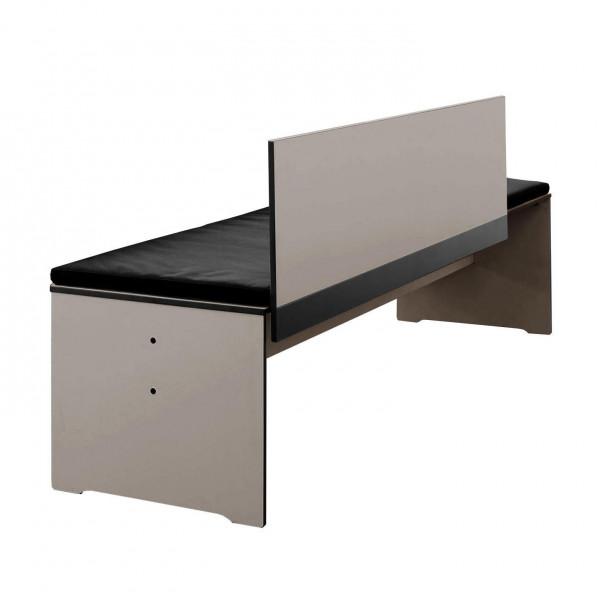 conmoto Sitzkissen für Riva Bank mit Rückenlehne