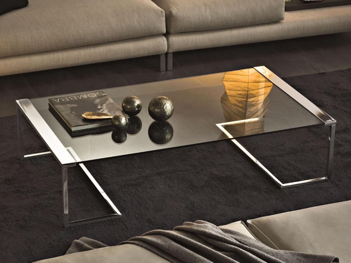 designklassiker couchtisch sir t 32 aus glas und messing von gallotti radice online kaufen. Black Bedroom Furniture Sets. Home Design Ideas