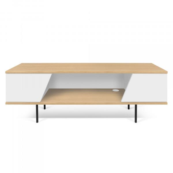 Temahome TV-Tisch Dixie - Eiche / Weiß