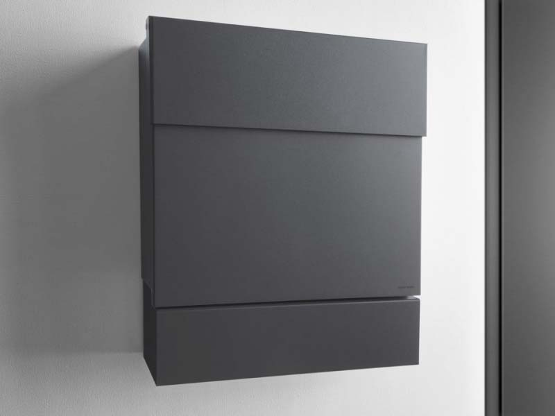 radius design briefkasten letterman 5 anthrazit online. Black Bedroom Furniture Sets. Home Design Ideas