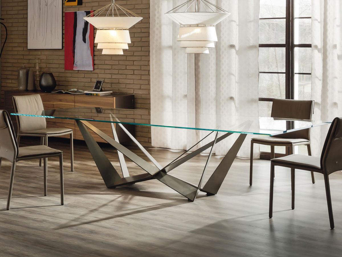cattelan italia design esstisch skorpio online kaufen borono. Black Bedroom Furniture Sets. Home Design Ideas