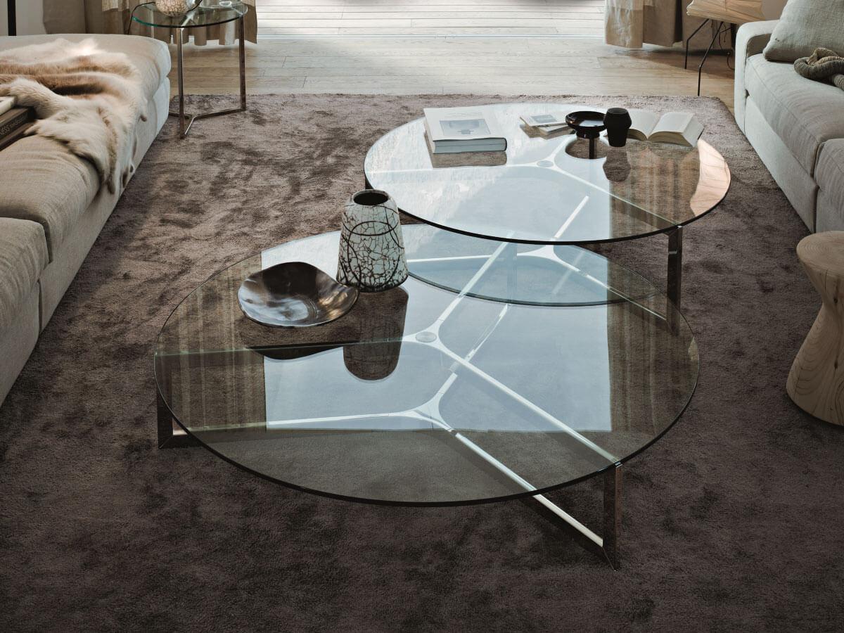 Couchtisch Designklassiker Glas