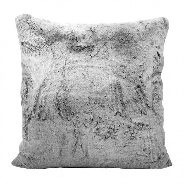 Fink Living Fellkissenbezug Tender - Grau, 50 x 50 cm