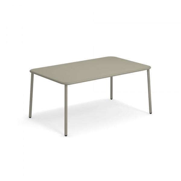 emu Outdoor Gartentisch Yard 160 x 98 cm - 37 Grau/Grün