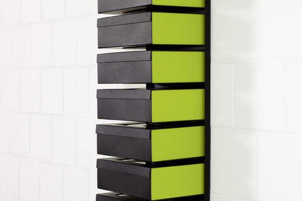 Schuhboxen Flex 5er-Paket (für art595/art596)