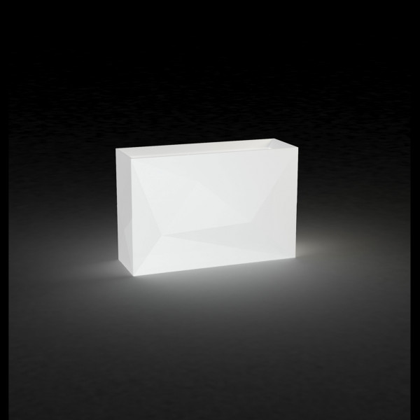 Beleuchtetes Pflanzgefäß Faz Wall