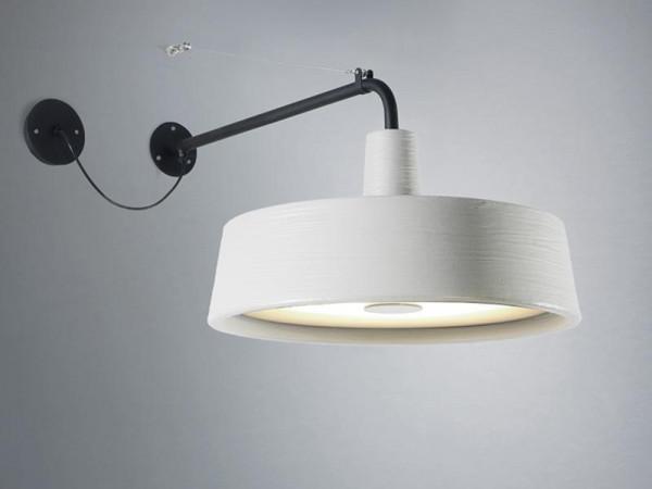 Soho 38 A LED (Outdoor IP44) Weiß Nahaufnahme