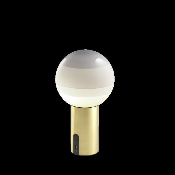 marset Akku-Leuchte LED Dipping Light Perlweiß cut-out