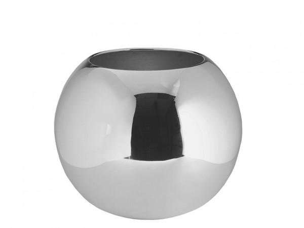 Fink Living versilberte Vase Moon - 25 cm Durchmesser