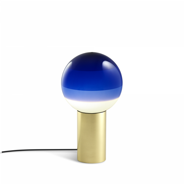 marset Tischleuchte LED Dipping Light Blau cut-out