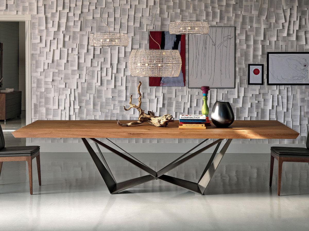Cattelan Italia Design Esstisch Skorpio Wood Online Kaufen