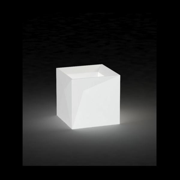 Beleuchtetes Pflanzgefäß Faz Cubo