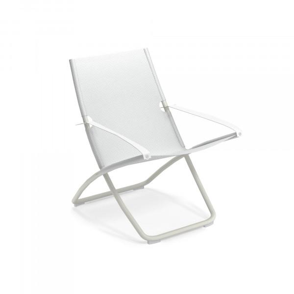 emu Liegestuhl Snooze (klappbar) - 23-300/54 Weiß - Weiß