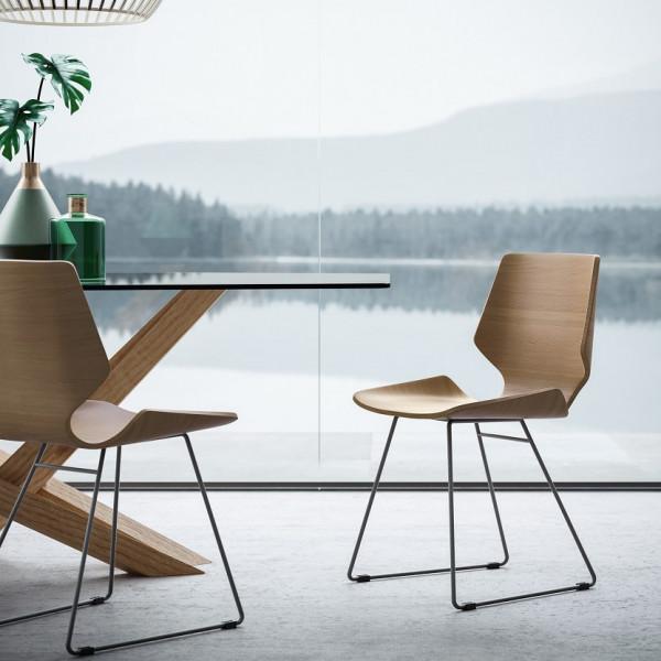 Italienischer Design Stuhl Livorno