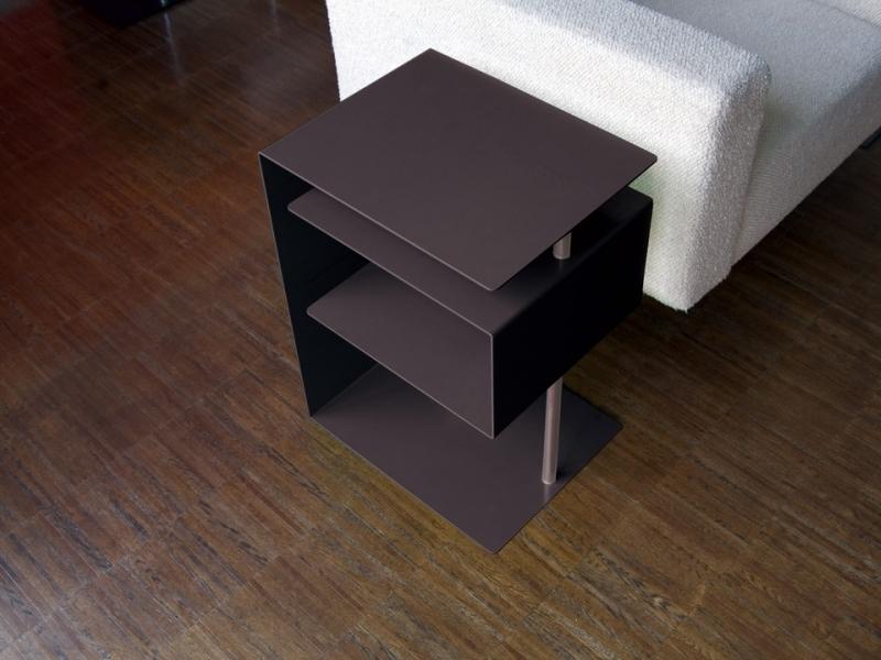 Radius design beistelltisch x centric schwarz online for Beistelltisch design schwarz