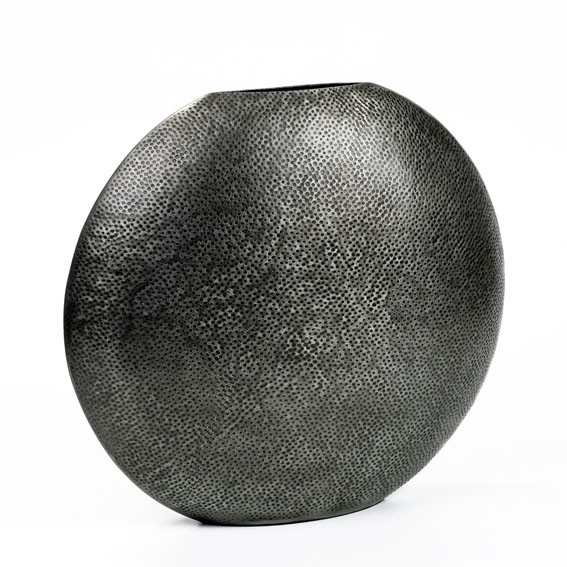 Lambert Deko Vase Faro Graphit - Höhe 35 cm