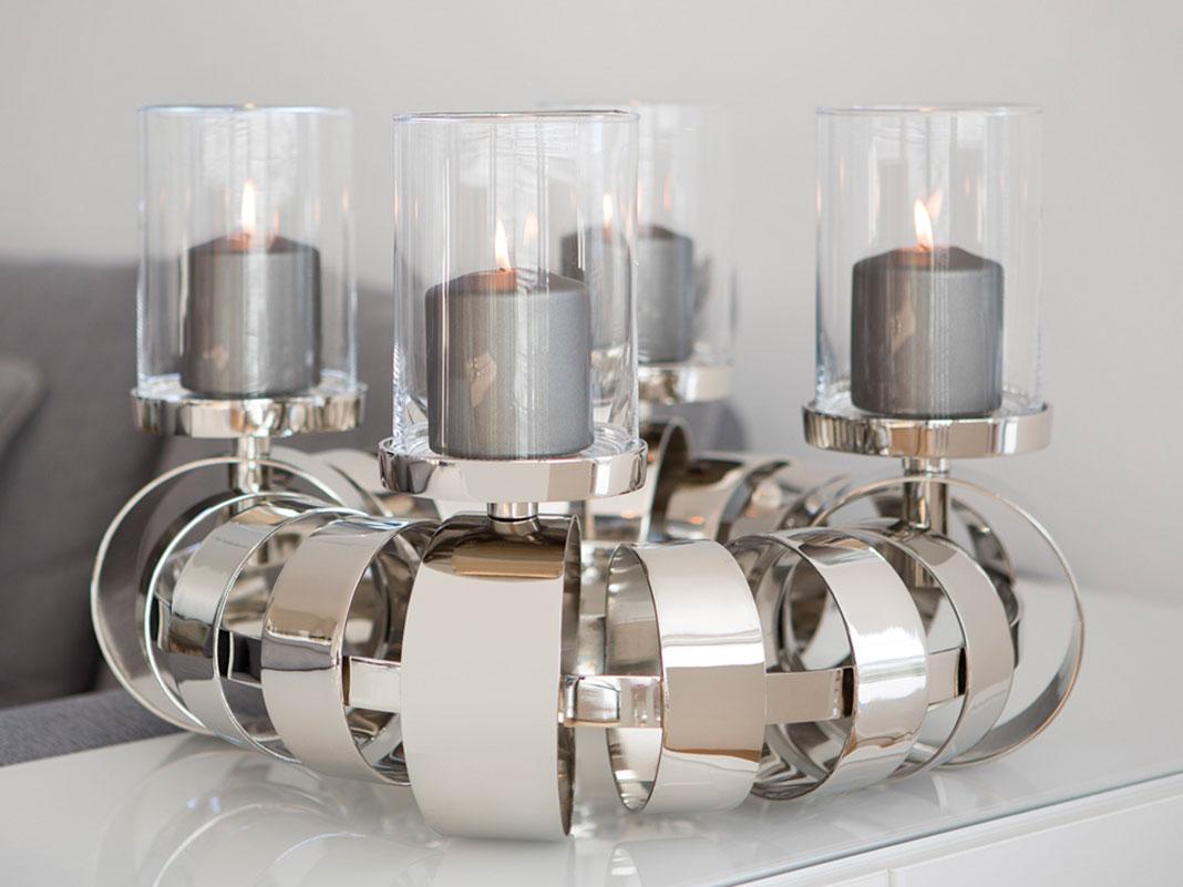 mundgeblasener glasyzylinder mit boden von fink online. Black Bedroom Furniture Sets. Home Design Ideas