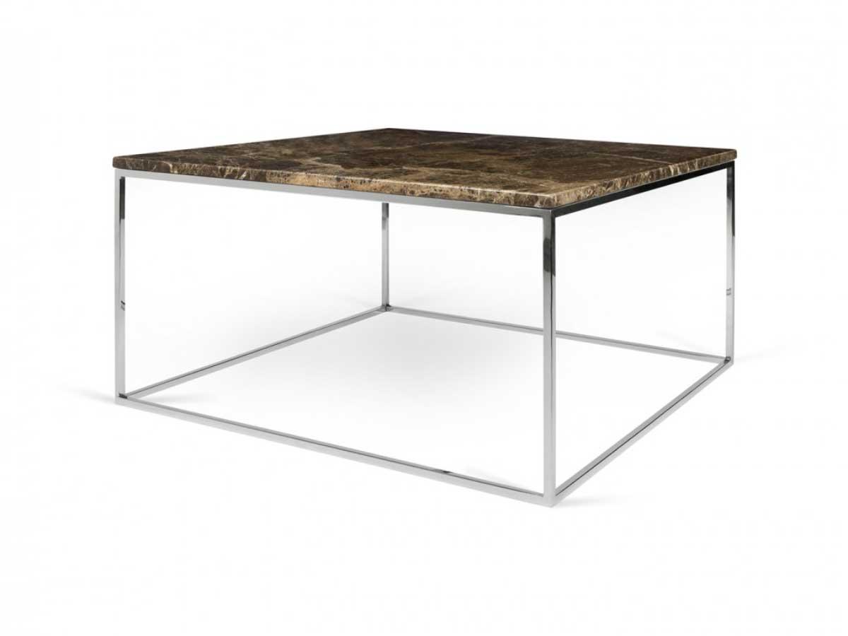 moderner couchtisch von temahome aus marmor und chrom. Black Bedroom Furniture Sets. Home Design Ideas