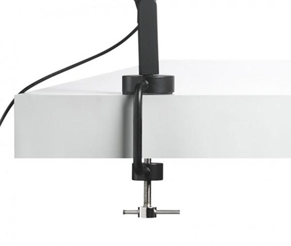 marset Tischklemme für Tischleuchte Polo schwarz (auch in weiß erhältlich)