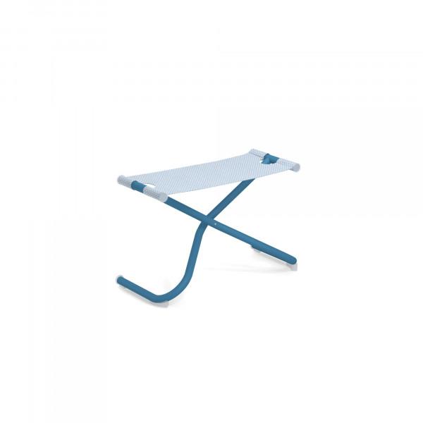 emu Fußschemel / Ablage Snooze (klappbar) - 61-300/76 Blau - Hellblau