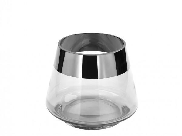 Fink Living Teelichthalter Jona - 9 cm hoch, Klar