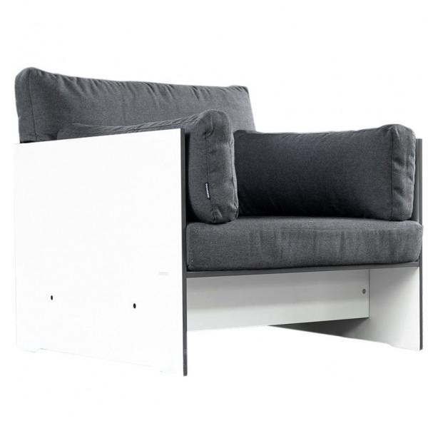 conmoto Lounge Sessel Riva Weiß