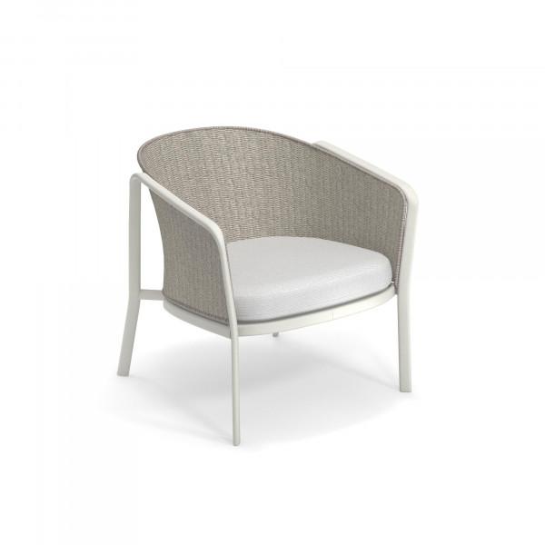 emu Carousel Loungesessel - 23-31 Weiß - Elfenbein Melange