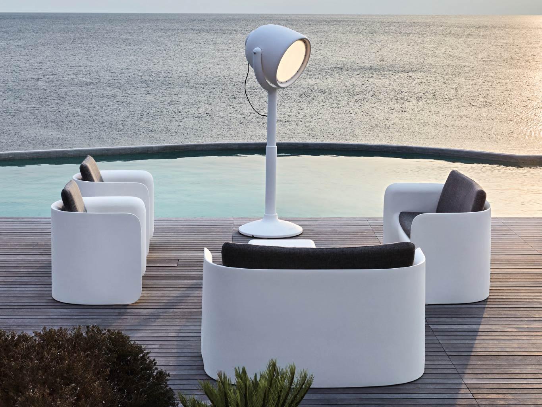 Myyour Nova Design Lounge Gartenmobel Sitzgruppe 4 Tlg Weiss