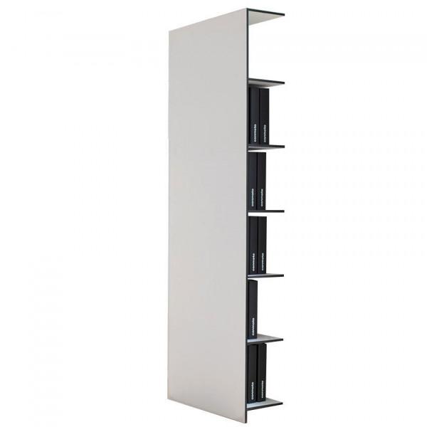 Modernes Büroregal für Ordner von conmoto Weiß