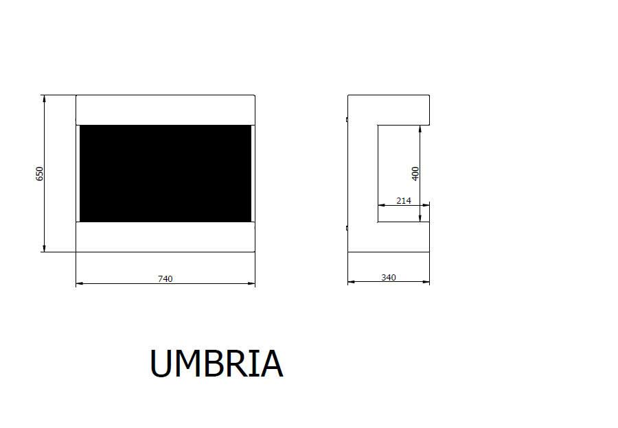 ruby fires bioethanol kamin umbria kaufen im borono online. Black Bedroom Furniture Sets. Home Design Ideas