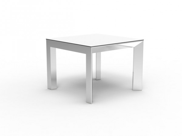 Quadrat-Tisch Frame - Aluminium