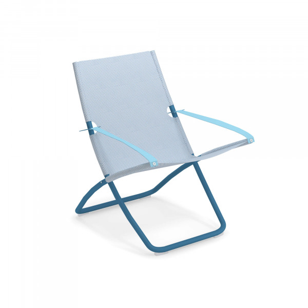emu Liegestuhl Snooze (klappbar) - 61-300/76 Blau - Hellblau
