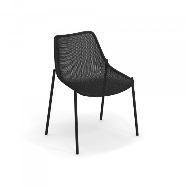 emu Outdoor Stuhl Round (ohne Armlehne) - 24 Schwarz