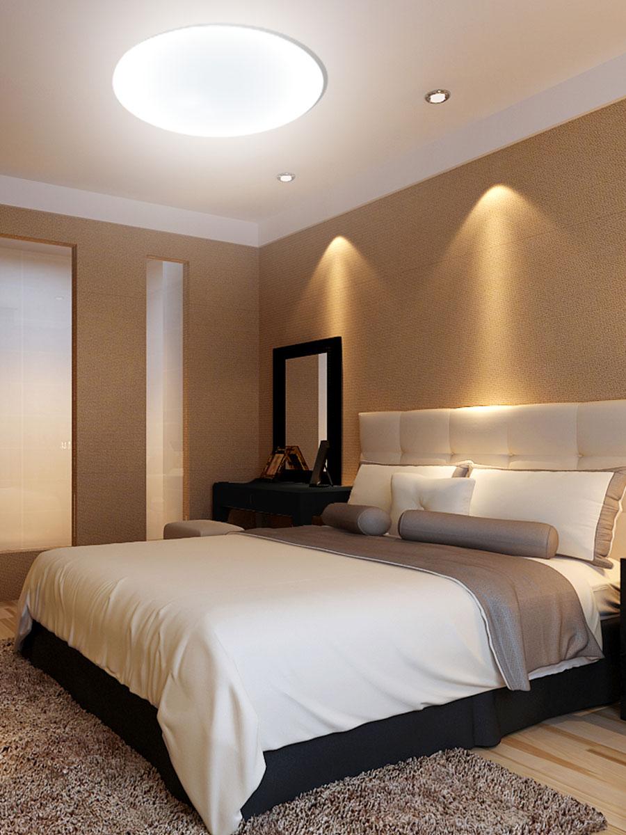 mantra design led deckenleuchte zero mit dimmfunktion 3 lichtt ne kreisrund online kaufen. Black Bedroom Furniture Sets. Home Design Ideas