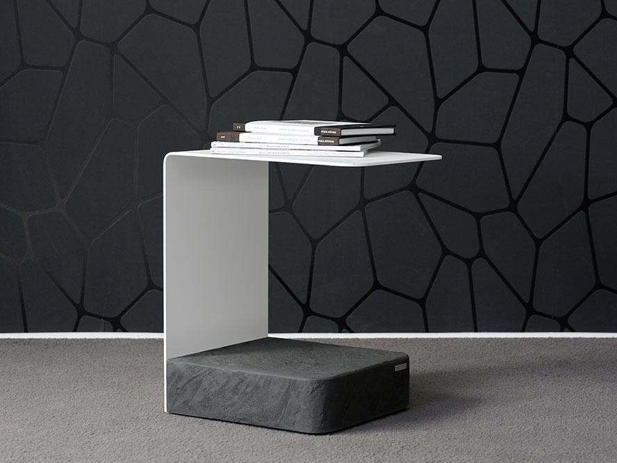 Wissmann design beistelltisch art 573 online kaufen for Beistelltisch c form