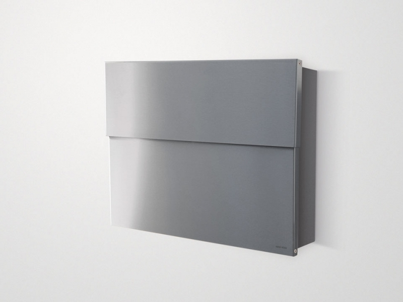 radius design briefkasten letterman xxl 2 edelstahl online kaufen. Black Bedroom Furniture Sets. Home Design Ideas