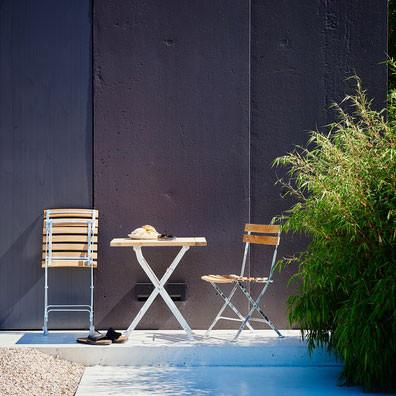 Jan Kurtz Garten Klappstuhl Lucca aus Teakholz mit Stahlgestell