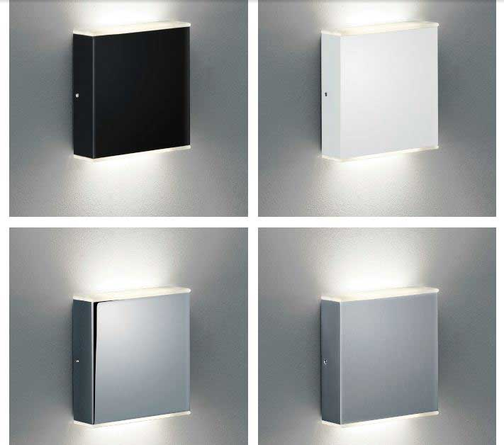 schmidt leuchten led wandleuchte case xl kaufen im borono online shop. Black Bedroom Furniture Sets. Home Design Ideas