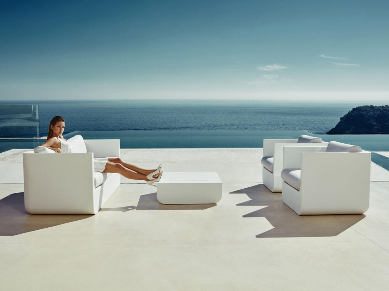vondom outdoor lounge sofa ulm online kaufen. Black Bedroom Furniture Sets. Home Design Ideas