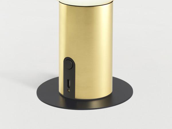marset Zubehör Metallscheibe + Magnet für Akku-Leuchte LED Dipping Light Portable Nahaufnahme