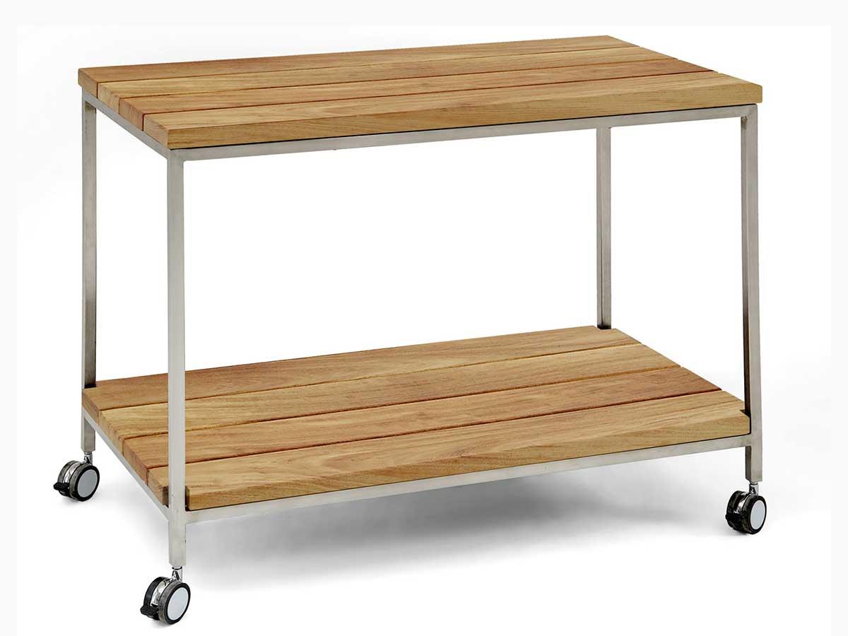niehoff servierwagen nicola teak recycled online kaufen. Black Bedroom Furniture Sets. Home Design Ideas