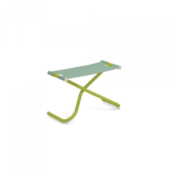 emu Fußschemel / Ablage Snooze (klappbar) - 60-300/43 Grün - Minz