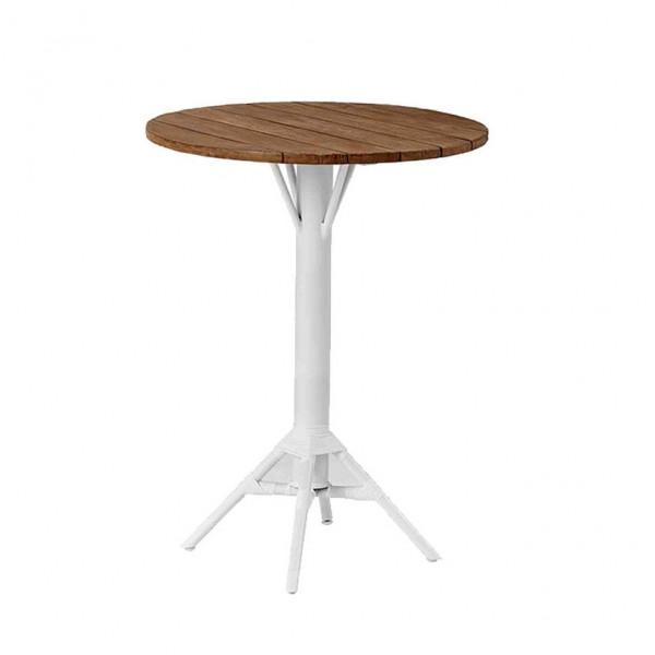 Sika Design Bartisch Nicole Teak Tischplatte rund