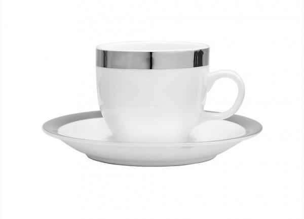 Fink Living Espressotasse Platinum mit Unterteller