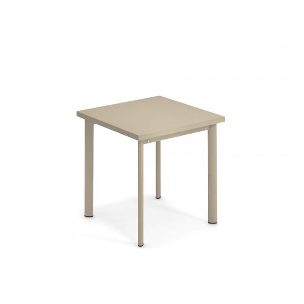 emu Outdoor Tisch Star 70 x 70 cm - 71 Taupe