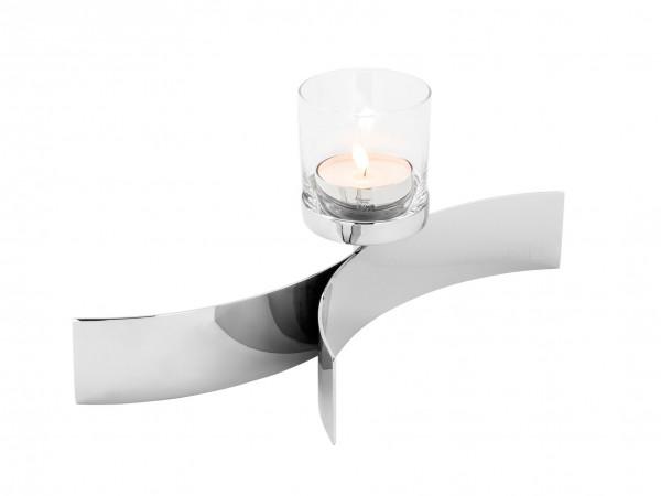 Fink Living Maxi-Tischleuchter Melody mit Glas - 1-flammig