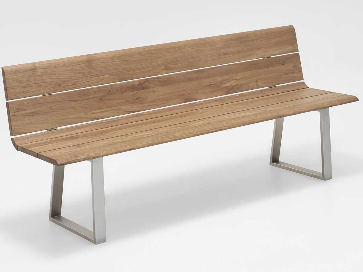 Gartenmobel Aluminum Holz : Niehoff Gartenbank Nova Edelstahl TeakRecycled online kaufen  borono