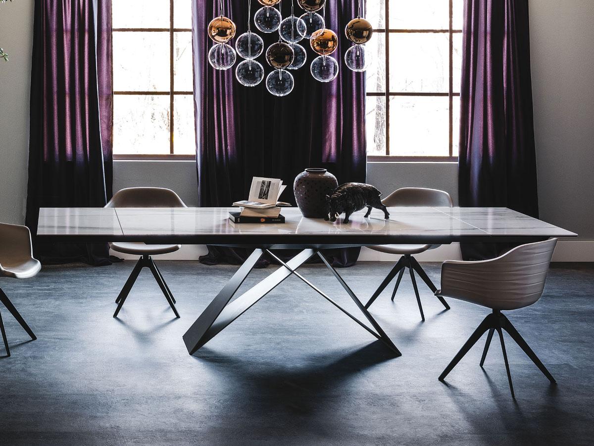 cattelan italia ausziehbarer keramik tisch premier drive online kaufen. Black Bedroom Furniture Sets. Home Design Ideas